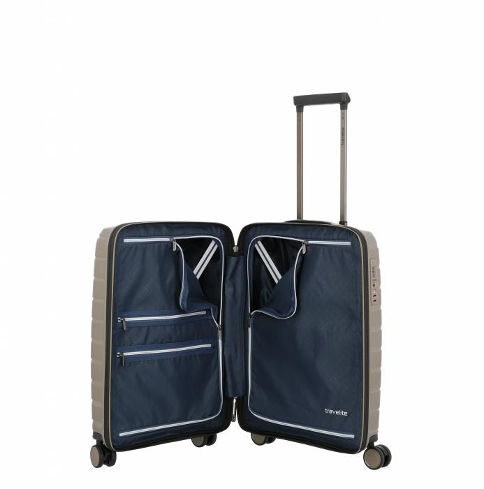 Troler travelite AIR BASE 4 roti DUBLE 55 CM - S 10