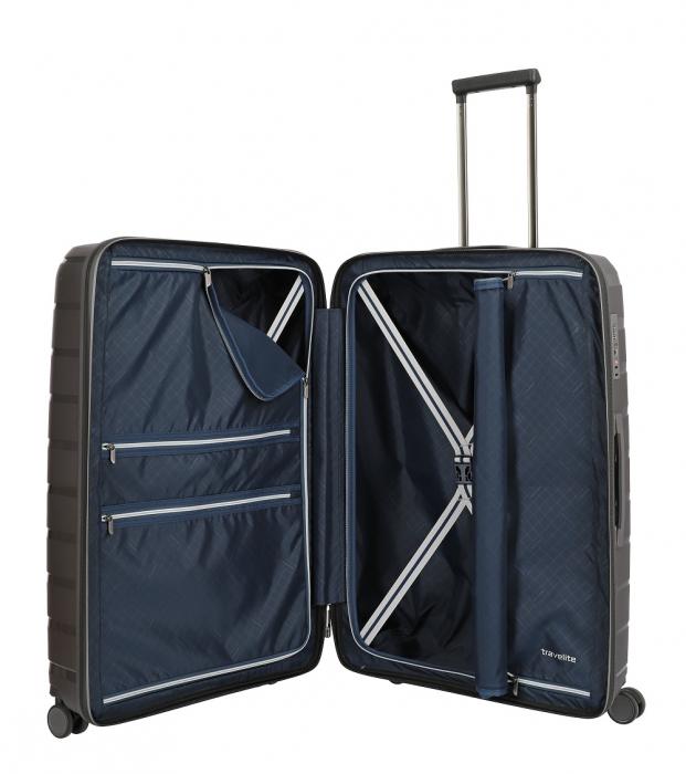 Troler travelite AIR BASE 4 roti DUBLE 77 CM - L 1