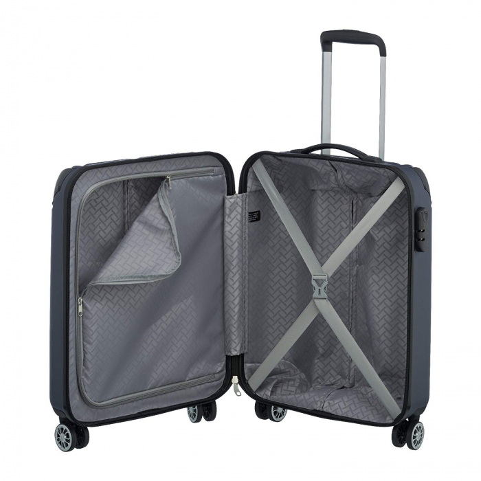Troler Travelite CITY 4 roti 55 cm S 11
