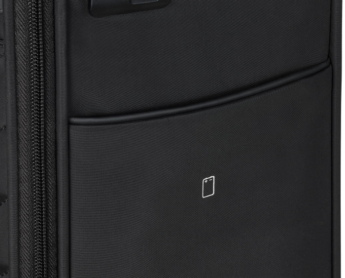Set trolere Travelite JADE 4 roti 54cm, geanta de umar si rucsac (USB incorporat) 13