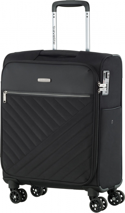 Set trolere Travelite JADE 4 roti 54cm, geanta de umar si rucsac (USB incorporat) 7