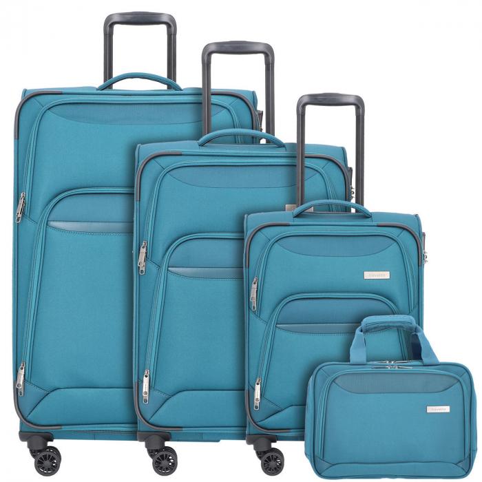 Set trolere Travelite KENDO 4 roti L extensibil/M extensibil/S 0