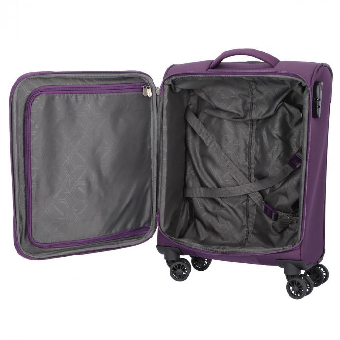 Troler Travelite KENDO 4 roti 55 cm S 4