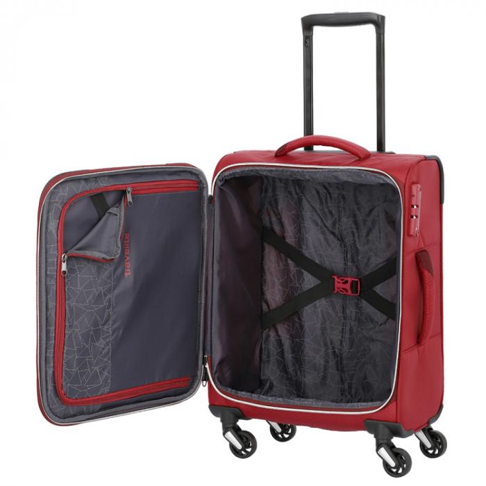 Troler Travelite KITE 4 roti 54 cm S 12