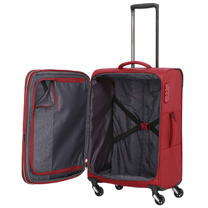 Troler Travelite KITE 4 roti 64 cm M extensibil 7