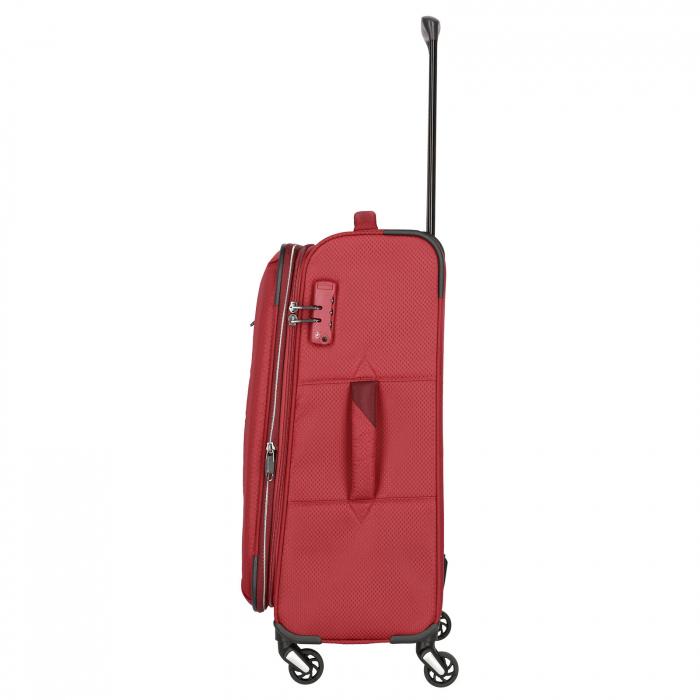 Troler Travelite KITE 4 roti 64 cm M extensibil 5