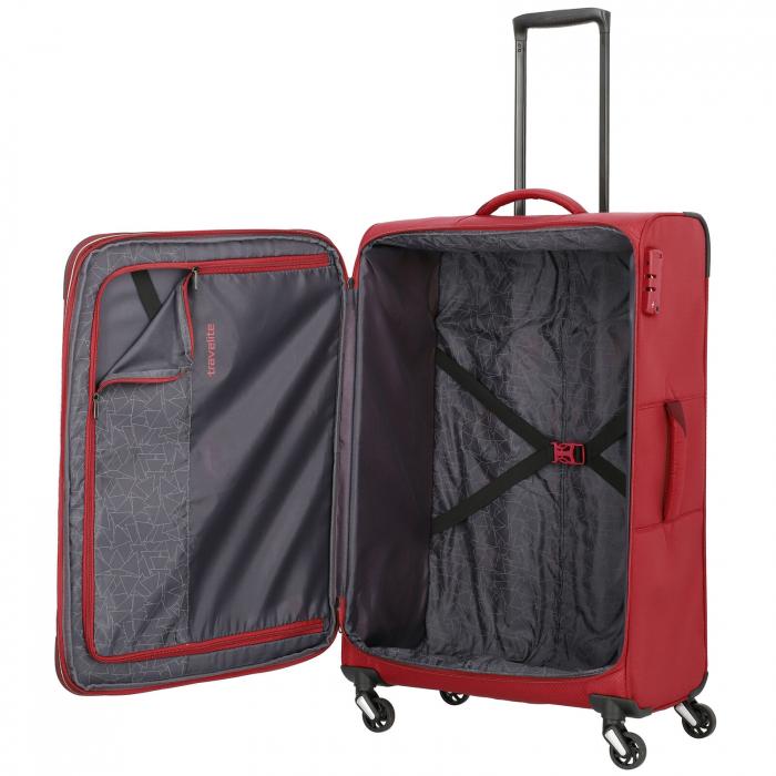 Troler Travelite KITE 4 roti 75 cm L extensibil 8