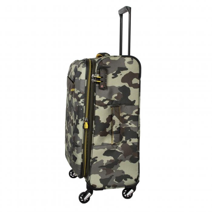 SET Trolere Travelite KITE 4w S,Mexp,Lexp - Camuflaj + Geanta de bord CADOU 2