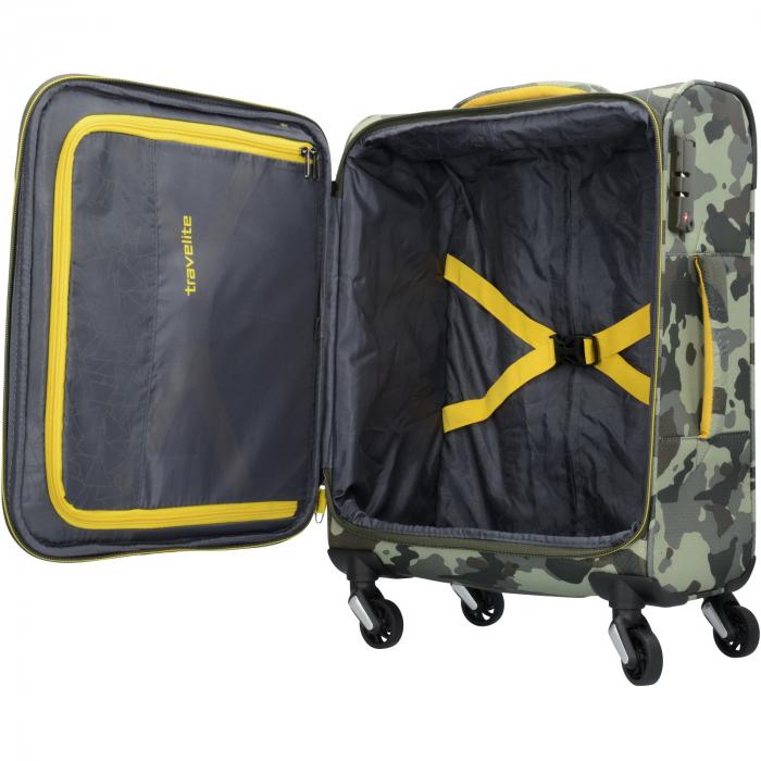 Troler Travelite KITE 4 roti 54 cm S 3