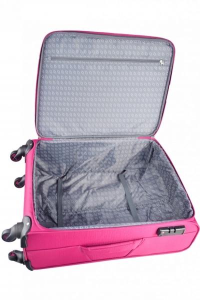 Troler Mirano Montreal 75 cm roz 2