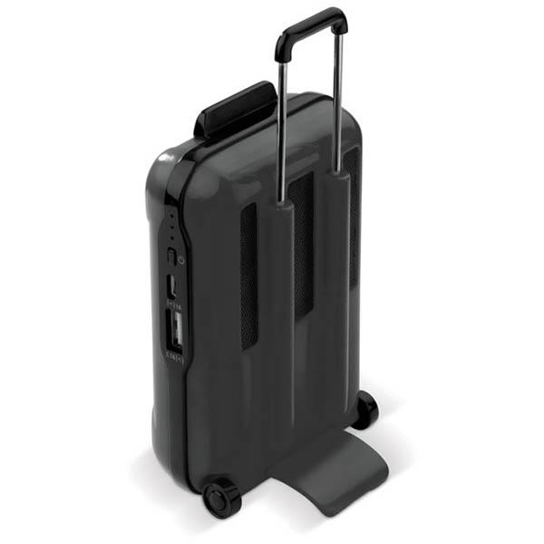 Acumulator extern 5000mAh in forma de valiza - Negru 2