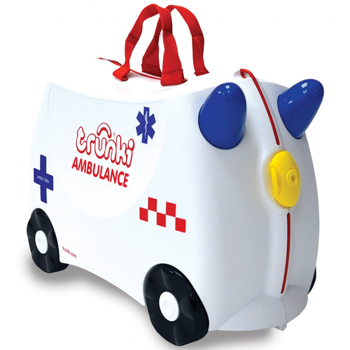 Valiza TRUNKI Abbie the Ambulance 0