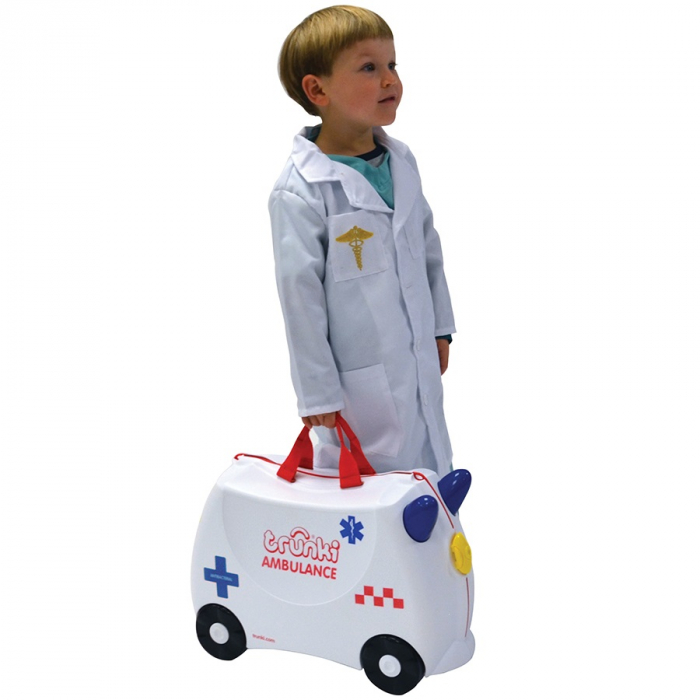 Valiza TRUNKI Abbie the Ambulance 1