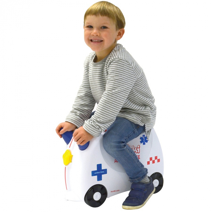 Valiza TRUNKI Abbie the Ambulance 3