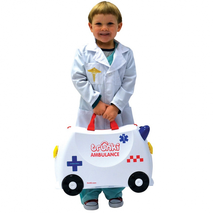 Valiza TRUNKI Abbie the Ambulance 6