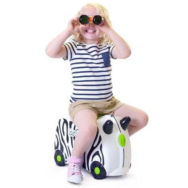 Valiza TRUNKI ZIMBA - Zebra 1