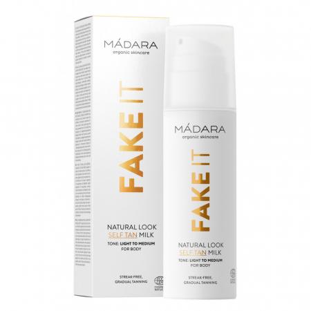 FAKE IT Natural Look Lapte autobronzant - 150 ml - Madara3