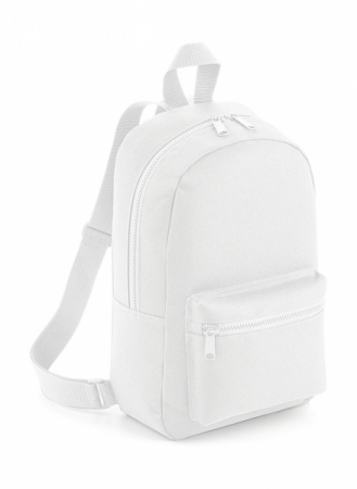 Rucsac mini Travel alb