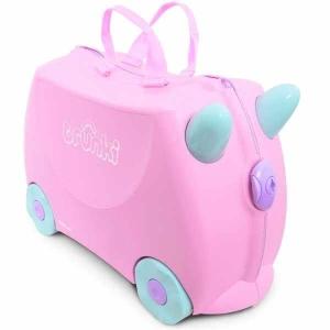 Set travel pentru copii - Valiza TRUNKI Rosie + Trunki Tidy Bag Pink1
