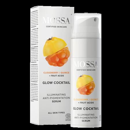 GLOW COCKTAIL Ser iluminator anti-pigmentare 25ml - Mossa