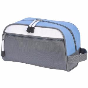 Geanta cosmetice travel gri/bleu0