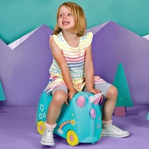 Set travel pentru copii - Valiza TRUNKI UNA - Unicornul + Perna calatorie Trunki Yondi Unicorn [7]
