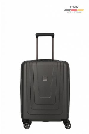 Troler de cabina TITAN X-RAY PRO S ( 40 x 55 x 20 cm) - Amprenta digitala si USB inclus0