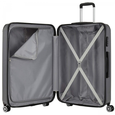 Troler Travelite CITY 4 roti 55 cm S2