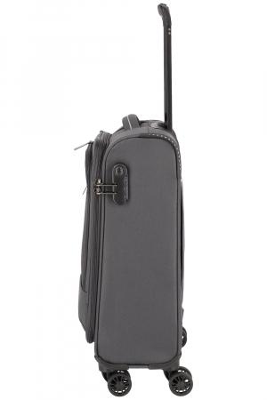 Troler de cabina Travelite Arona 4 roti duble 55 cm S7