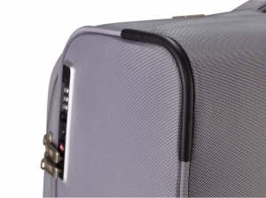 Troler TITAN - SPOTLIGHT Textil 4 roti duble M - 65 cm- Gri Sorbet/Multicolor6
