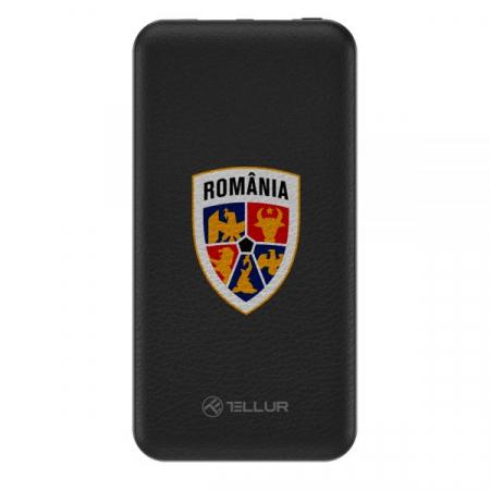 Baterie externa Tellur FRF slim 10000mAh 2 x USB + Micro USB, FRF, negru0