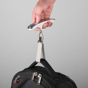 Cantar digital bagaje alb/argintiu 50kg2