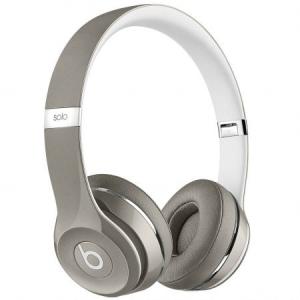 Casti Beats Solo2 On-Ear (Luxe Ed.)Silver mla42zm/a0