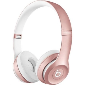 Casti Beats Solo2 Wireless On-Ear Rose mllg2zm/a0