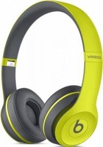 Casti Beats Solo2 Wireless Yellow  mkq12zm/a0