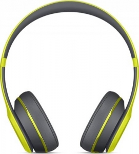 Casti Beats Solo2 Wireless Yellow  mkq12zm/a1