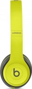 Casti Beats Solo2 Wireless Yellow  mkq12zm/a2