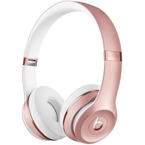 Casti Beats Solo3 Wireless On-Ear  - Rose Gold mnet2zm/a0