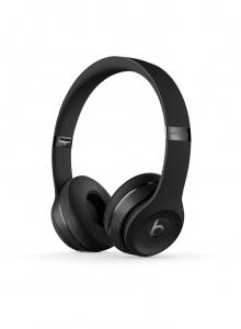 Casti Beats Solo3 Wireless On-Ear Headphones - Black - mp582zm [0]