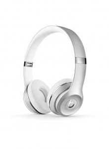 Casti Beats Solo3 Wireless On-Ear Headphones - Silver - mneq2zm [0]