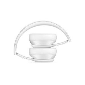 Casti Beats Solo3 Wireless On-Ear Headphones - Gloss White - mnep2zm [2]