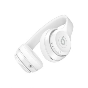 Casti Beats Solo3 Wireless On-Ear Headphones - Gloss White - mnep2zm [3]