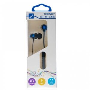 Casti Tellur In-Ear Trendy, Albastru [1]