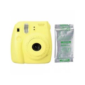 Fujifilm Instax Mini 8, Galben   Set hartie foto, 10 buc [0]