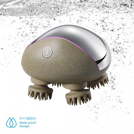 Dispozitiv masaj pentru scalp incarcare wireless - cu baza4