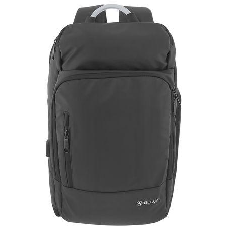 """Rucsac laptop Tellur Business L, cu port USB, 17.3"""", negru [0]"""