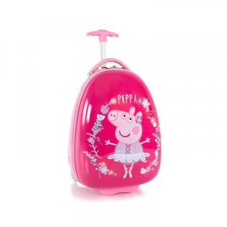 Troler Copii Heys Peppa Pig Pink 46 cm - ABS [1]