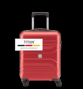 Troler TITAN PRIOR 4w S Rosu