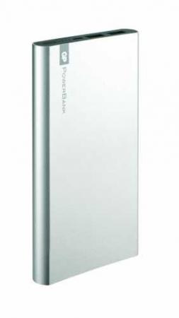 Acumulator portabil powerbank 10000mAh, argintiu, GP1