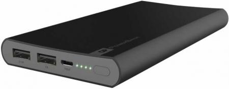 Acumulator portabil powerbank 10000mAh, negru, GP2